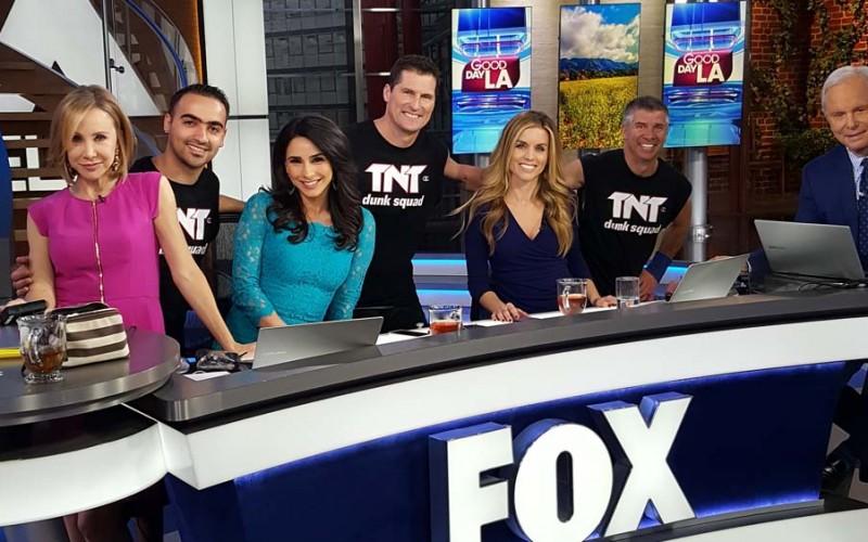 TNT Dunk on Good Day LA