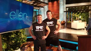 TNT Dunk Squad on Ellen